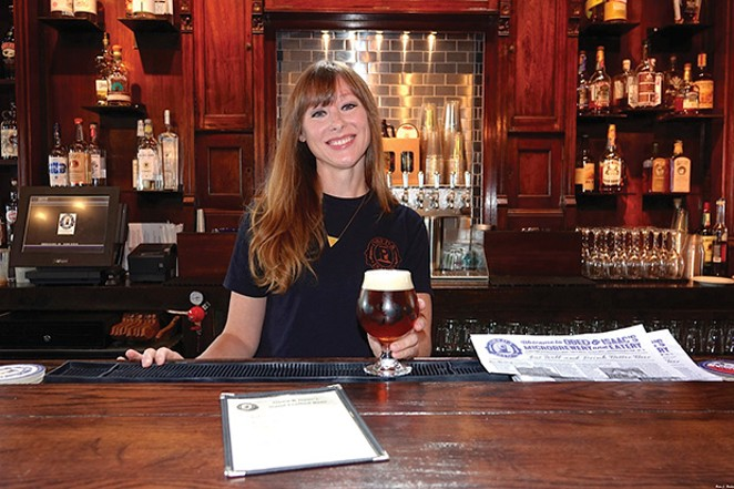 BEST BARTENDER  –  KATE CATALANO Obed and Isaac's Microbrewery and Eatery - PHOTO BY BRIAN BOWLES