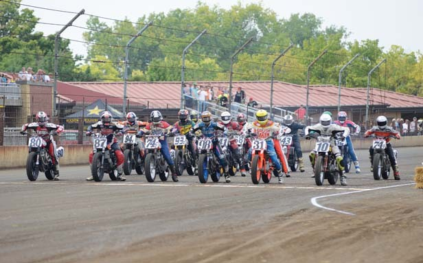 Held twice a year, the Springfield Mile draws the top riders from across the nation. - PHOTO BY TREVOR MILLER