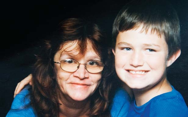 Terry Payton, right, shown here as a child in an undated photograph, admitted to stabbing his mother, Kathie Payton, on June 23. - PHOTO COURTESY OF JAN BURNO