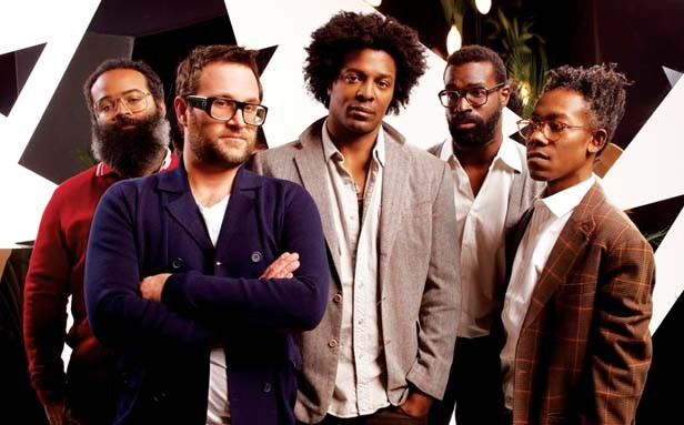 National touring groups The Roots, TVon the Radio (above) and Cat Power headline this years LouFest music festival in St. Louis, MO.
