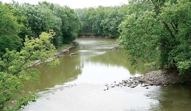 In 1925 planners proposed a scenic drive along the bluffs of the Sangamon River. - PHOTO BY DUAL FREQ
