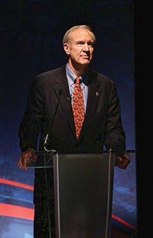 Bruce Rauner, a Republican candidate for governor of Illinois. - PHOTO BY TERRENCE ANTONIO JAMES/MCT