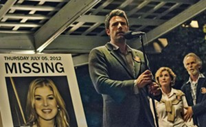 Rosamund Pike as Amy Dunne and Ben Affleck as Nick Dunne in Gone Girl. - PHOTO COURTESY 20TH CENTURY FOX