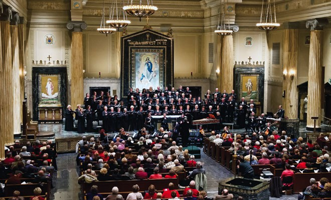 "The Springfield Choral Society has performed Handel's ""Messiah"" in each of the last three years. - PHOTO BY MARK SMITH"