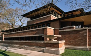 Frank Lloyd Wright's Prairie style achieved perfection with the Frederick C. Robie House. - PHOTO BY TIM LONG, COURTESY OF FRANK LLOYD WRIGHT TRUST