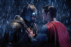 Ben Affleck as Batman and Henry Cavill as Superman in Batman v Superman: Dawn of Justice. - PHOTO COURTESY WARNER BROS. PICTURES