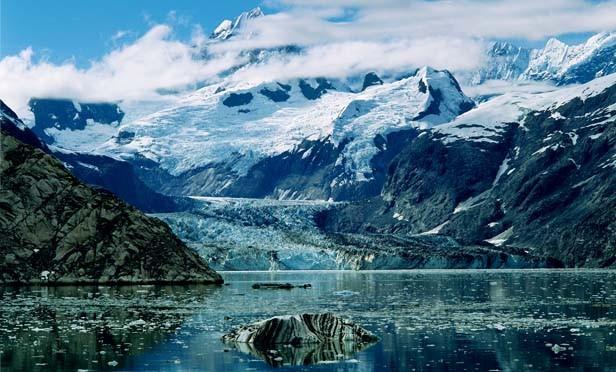 John Hopkins Inlet, Glacier Bay, 1988. - PHOTOGRAPH © 2010 ROBERT GLENN KETCHUM