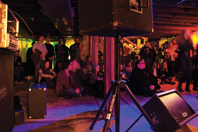 A typical Radon Lounge audience. - PHOTO COURTESY RADON LOUNGE