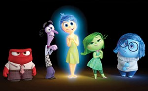 Anger, Disgust, Joy, Fear and Sadness from Inside Out. - PHOTO COURTESY WALT DISNEY PICTURES