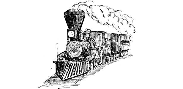 The Illinois, Sangamon County's first locomotive