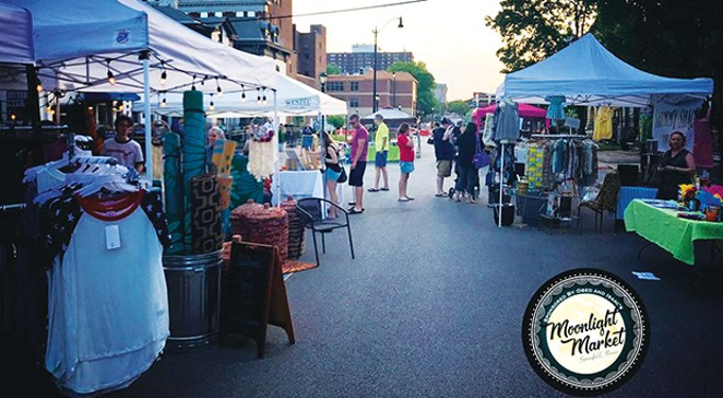 Moonlight Market Jun 6, 20, Jul 18, Aug 1, 15, Obed & Isaacs