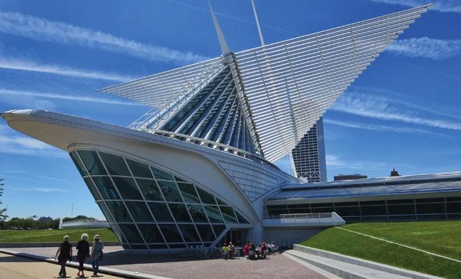 Milwaukee Art Museum. - PHOTO BY JOHN CAMPER