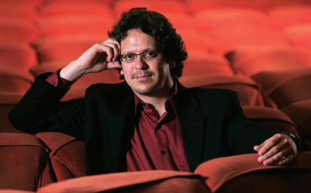 Guest conductor Donato Cabrera will lead Illinois Symphony Orchestra musicians through their Oct. 15 performance during the 2011-2012 season.