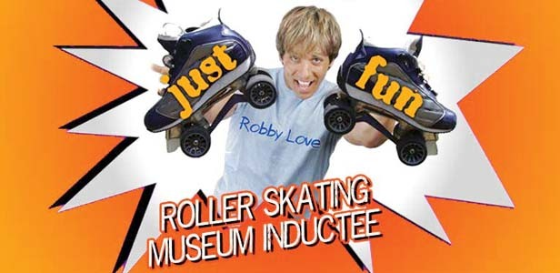 Rolling Rapper Robbie Love is a singer whose big heart overshadows his musical talents Skatin' 66.