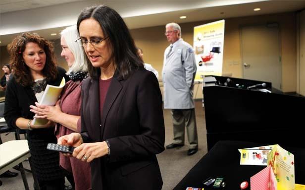 Illinois Attorney General Lisa Madigan - PHOTO BY NANCY STONE/MCT
