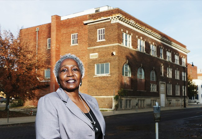 Mary Hardy Hall was the last director of the YWCA before it closed. - PHOTO BY PATRICK YEAGLE