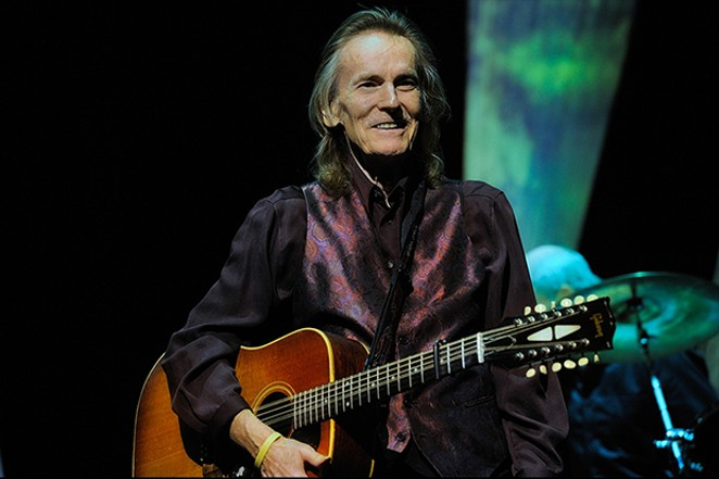 Gordan Lightfoot performs at Sangamon Auditorium on Sept. 29.