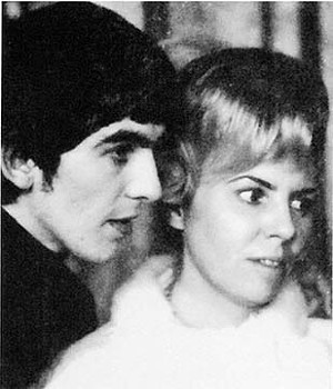 George Harrison and his sister, Louis Harrison Caldwell, from the first Beatles tour of America, circa February 1964. - PHOTO COURTESY LOUISE HARRISON AND SOUTHERN ILLINOIS UNIVERSITY PRESS