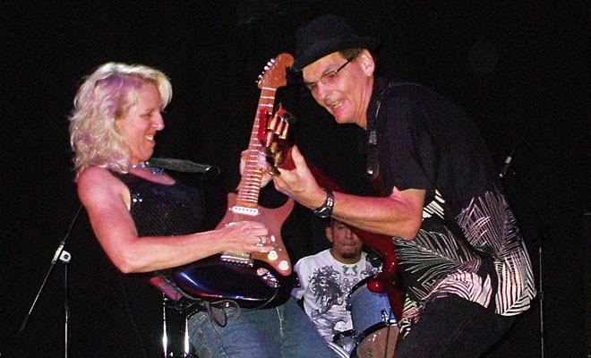 Laurie Morvan rocks the Alamo on Mon., Aug. 11 for the Illinois Central Blues Club's Blue Monday jam.