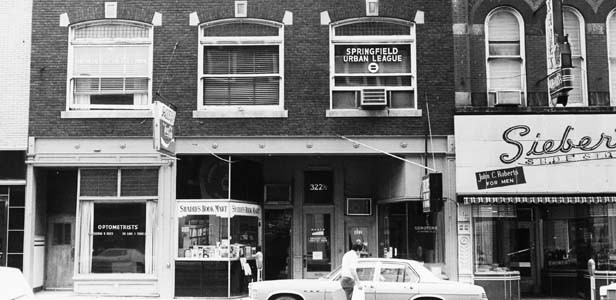 Shadid's at 322 S. Sixth St. circa 1971. - PHOTO PROVIDED BY THE SANGAMON VALLEY COLLECTION