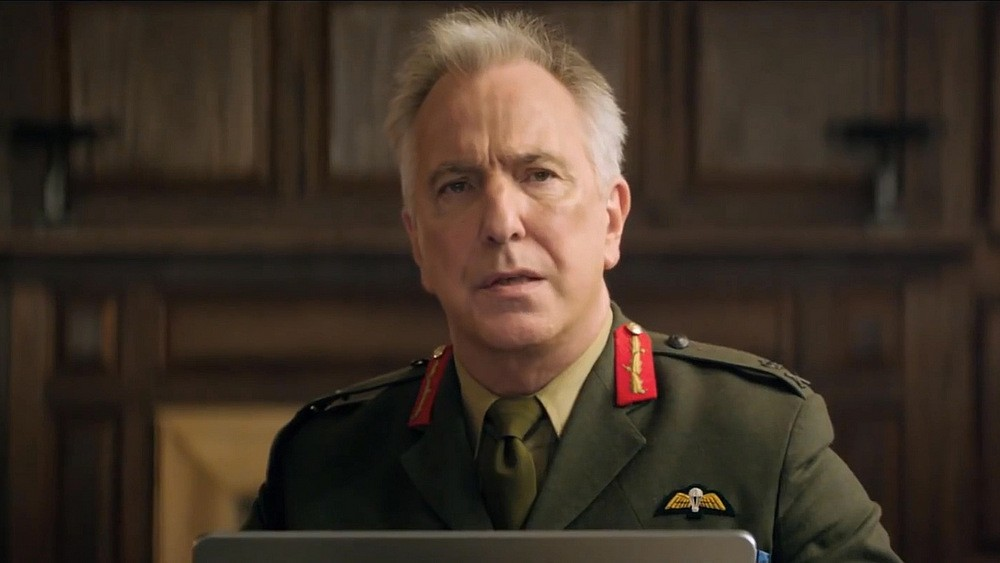 "Alan Rickman in his last on-screen performance in ""Eye in the Sky."" - COURTESY BLEECKER STREET MEDIA"