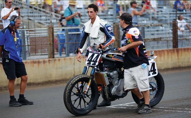 After a horrific crash in 2009, Brandon Robinson is back on the bike and in fine form, winning every race he rode in Springfield - PHOTO BY TREVOR MILLER