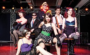 The Randy Dandies Burlesque Troupe from St. Louis entertains at Homespun Republic on Sat., June 12.