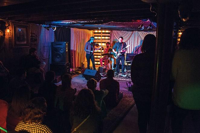 Hush Pad performs at Radon Lounge. - PHOTO COURTESY RADON LOUNGE