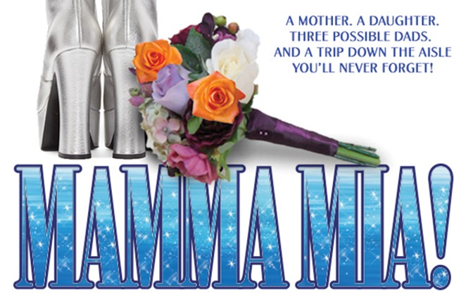 Mama Mia! July 6-8, 11-15, 18-22, 25-29 at The Legacy Theatre in Springfield