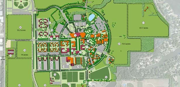 The 2008 update of the UIS campus master plan is available at www.uis.edu/strategicplan.