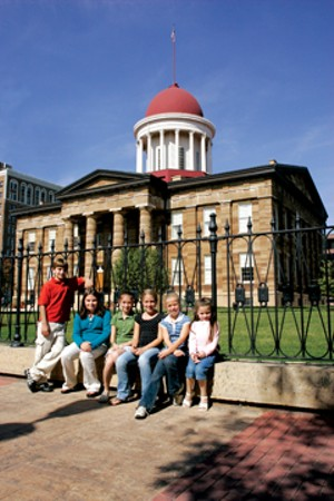 According to the Springfield Convention and Visitors Bureau, eight out of nine local historic sites saw an increase in visitors in 2009. The Old State Capitol was visited by roughly 165,000 in 2009, a 39 percent increase over 2008. - PHOTOS COURTESY OF SPRINGFIELD CONVENTION AND VISITORS BUREAU