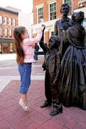 Tourism, the fourth largest industry in Sangamon County, generated $346 million in 2008. Springfield is the state's second largest tourism stop behind Chicago, offering several Abraham Lincoln historic sites like the Lincoln-Herndon Law Offic - PHOTOS COURTESY OF SPRINGFIELD CONVENTION AND VISITORS BUREAU