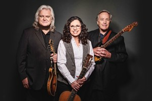 The Sangamon Auditorium at UIS presents An Evening with Ry Cooder, Sharon White and Ricky Skaggs on Sunday, Jan. 31 at 7 p.m.