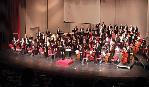 The Illinois Symphony Orchestra performs several times through the end of the year, including their Happy Holidays concert on Dec. 19. - PHOTO BY DUSTY RHODES