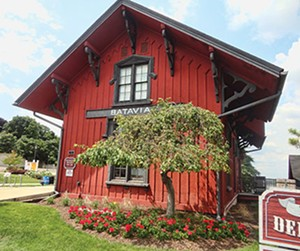 The Batavia Depot Museum. - PHOTO BY CINDY LADAGE