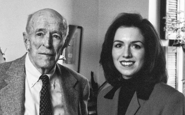 Barbara Burkhardt, pictured with Maxwell, had wide-ranging conversations with Maxwell between 1991 and 1993. Those previously unpublished interviews form the heart of this book. 