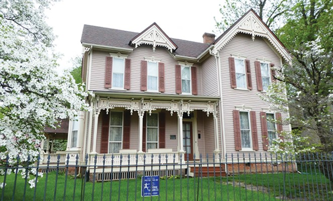 Built in 1878, the Freeman-Hughes home has been on the National Register of Historic Places for nearly three decades.