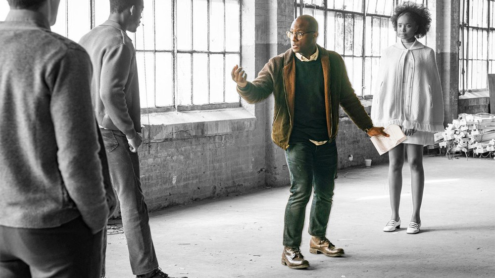 Barry Jenkins directing If Beale Street Could Talk. - COURTESY A24 FILMS