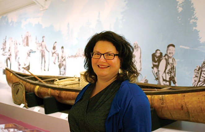 Illinois State Museum director Cinnamon Catlin-Legutko