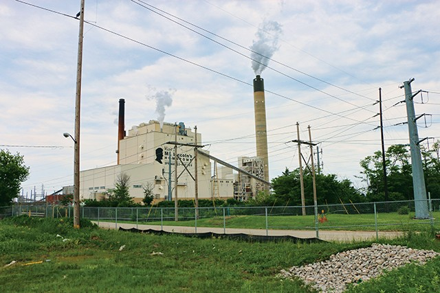 The debate continues around the environmental impact of CWLP's Dallman 4 power plant. - PHOTO BY DAVID HINE