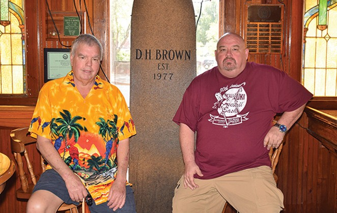 DH Brown's co-owners David Brown and Alex Preston