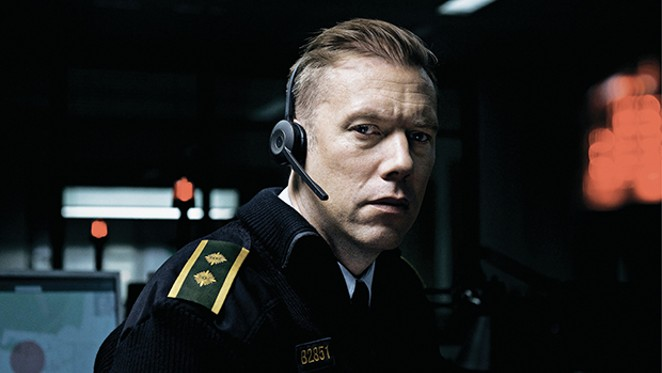 Jakob Cedergren as Asger Holm in The Guilty.