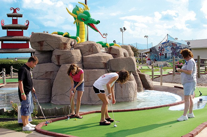 Knight's Action Park and Caribbean Water Adventure - PHOTO COURTESY KNIGHTS ACTION PARK