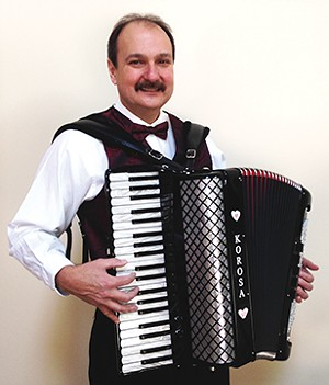 Eddie Korosa, Jr. and his Boys from Illinois play for the Charity Oktoberfest at the K of C Hall on Sept. 7.