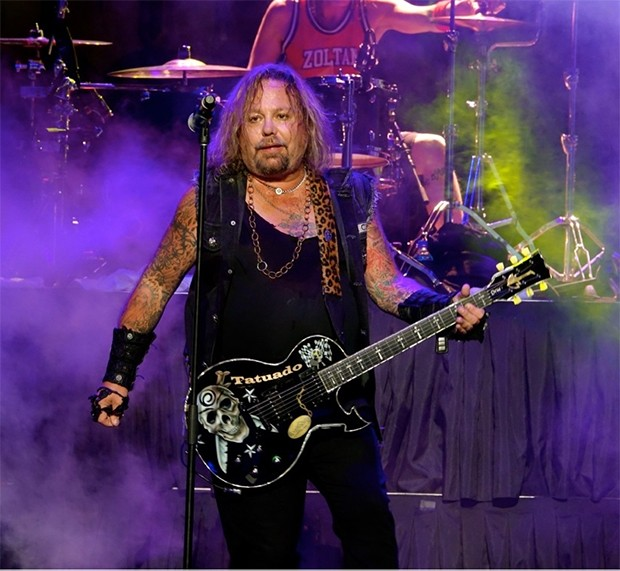 Vince Neil - PHOTO BY BRIAN BOWLES