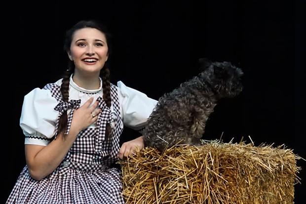 Annie Fulgenzi as Dorothy. - PHOTO BY MATT FRANKLIN