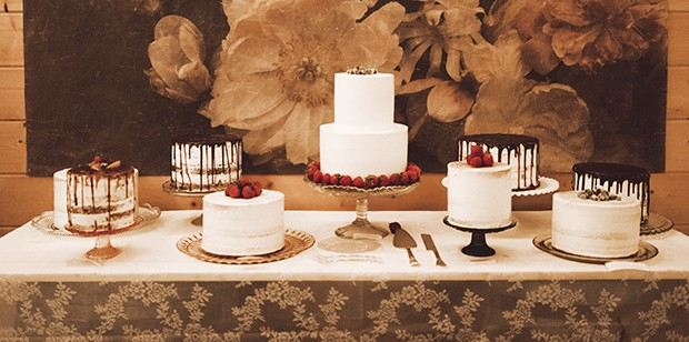 A wedding cake bar allows guests to choose from multiple cake options. - PHOTO COURTESY INCREDIBLY DELICIOUS