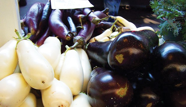 Eggplants come in a variety of cultivars and colors. - PHOTO BY J.E. FEE