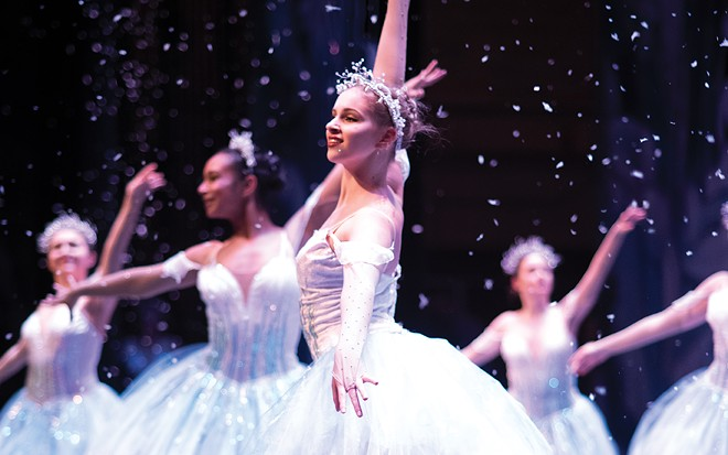 Springfield Ballet Company will perform an adaptation of Tchaikovsky's classic holiday ballet, The Nutcracker, Dec. 14-15 at the UIS Performing Arts Center. - PHOTO BY PATRICK RUSSELL, CURTAIN & LEAF