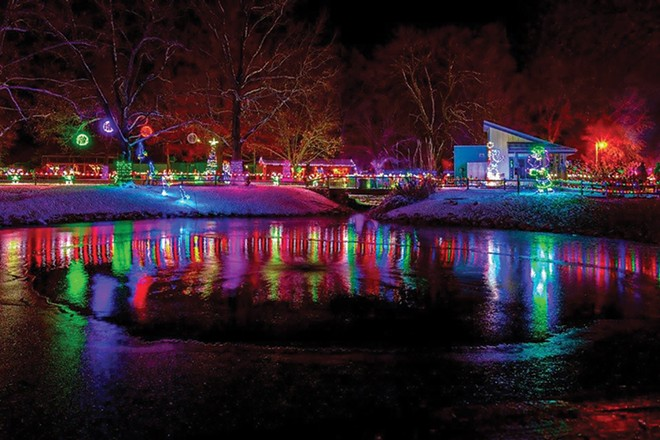 Winterland Holiday Zoo Lights: Nov 29-Dec 29, Fri-Sun, 5-9pm.